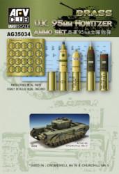 AFV CLUB U.K. 95mm Howitzer...