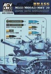 AFV CLUB M511/M60A2/MBT 70...