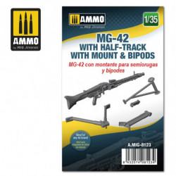 AMIG MG-42 with Half-Track...