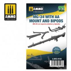 AMIG MG-34 with AA Mount...
