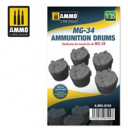 AMIG MG-34 Ammunition Drums