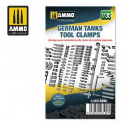 AMIG German Tanks Tool Clamps