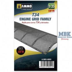 AMIG T34 Engine Grid Family