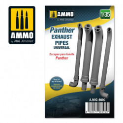 AMIG Panther Exhausts Pipes...