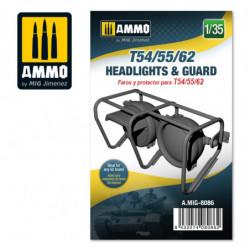 AMIG T54/55/62 Headlights &...