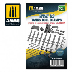 AMIG WWII US Tanks Tool Clamps