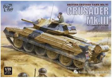 BORDER MODEL Crusader Mk.III