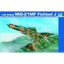 TRUMPETER MiG-21MF Fishbed J
