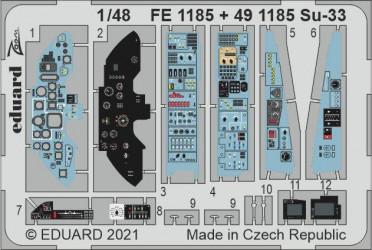 EDUARD ZOOM SET Su-33