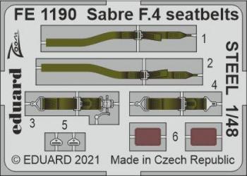 EDUARD ZOOM SET Sabre F.4...