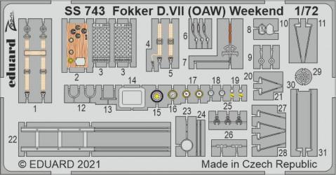 EDUARD ZOOM SET Fokker...