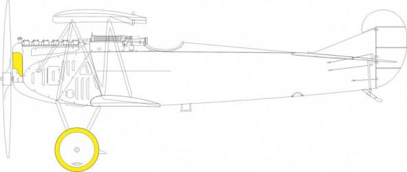 EDUARD MASK  Fokker D.VII...