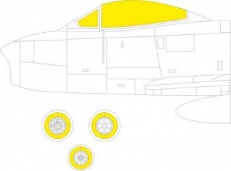 EDUARD MASK  Sabre F.4 TFace