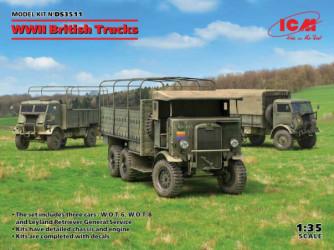 ICM WWII British Trucks