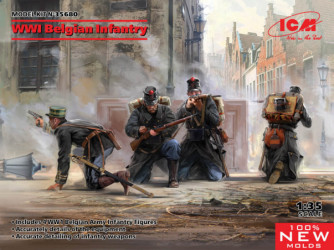 ICM WWI Belgian Infantry