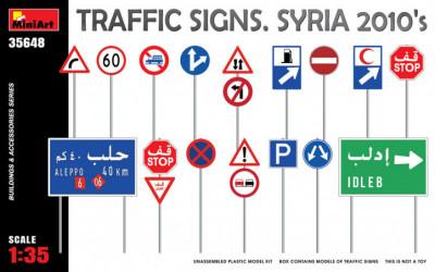 MINIART Traffic Signs Syria...