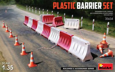 MINIART Plactic Barrier Set