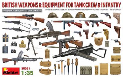 MINIART British Weapons &...
