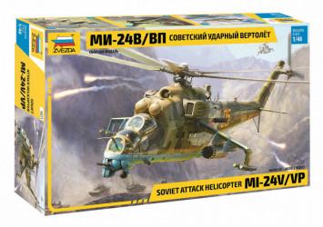 ZVEZDA MIL MI-24 V/VP