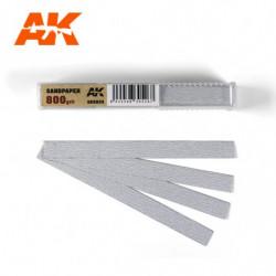 AK Dry Sandpaper 800 50 units