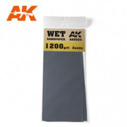 AK Wet Sandpaper 1200 3 units