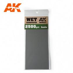 AK Wet Sandpaper 2500 3 units