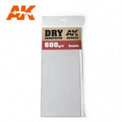 AK Dry Sandpaper 600 3 units