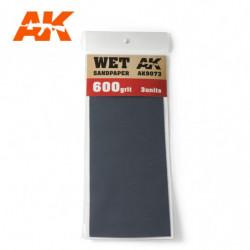 AK Wet Sandpaper 600 3 units