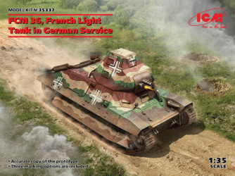 ICM FCM 36 French Light Tank