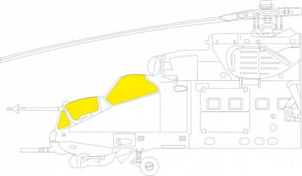 EDUARD MASK  Mi-24P TFace