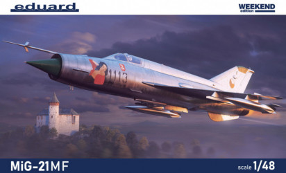 EDUARD WEEKEND ED MiG-21MF
