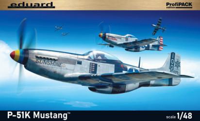EDUARD PROFIPACK P-51K Mustang