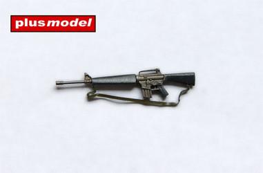 PLUS MODEL M-16 Rifle 3pcs.