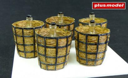 PLUS MODEL Acid Containers...