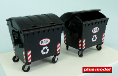 PLUS MODEL Waste Container...