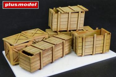 PLUS MODEL Big Wooden Boxes