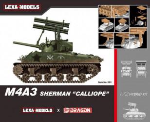 "DRAGON M4A3 Sherman ""Calliope"""
