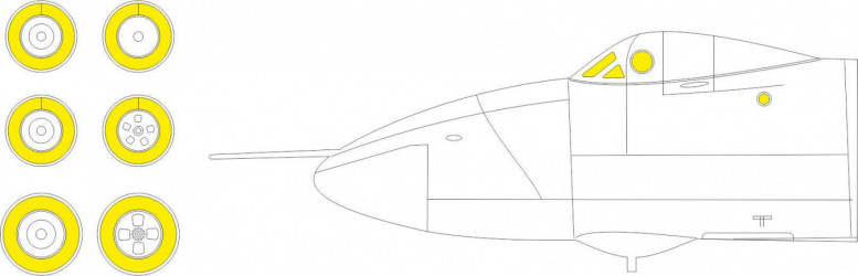 EDUARD MASK Vulcan B.2