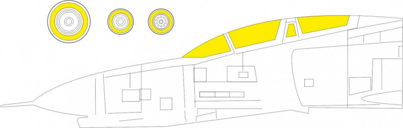 EDUARD MASK F-4B TFace