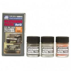 GUNZE Weathering Pastel Set 2