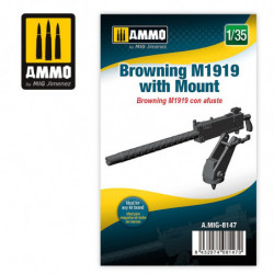 AMIG Browning M1919 with Mount