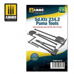 AMIG Sd.Kfz 234/2 Puma Tools