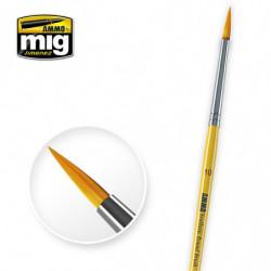 AMIG 10 Synthetic Round Brush
