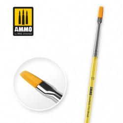 AMIG 10 Synthetic Flat Brush