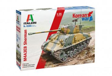 ITALERI Sherman M4A3E8...
