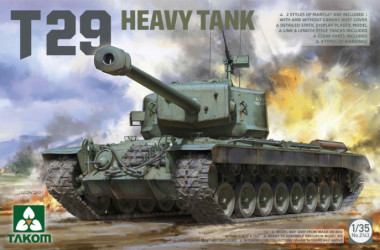 TAKOM T29 Heavy Tank