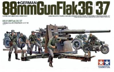 TAMIYA 88mm Gun Flak 36/37