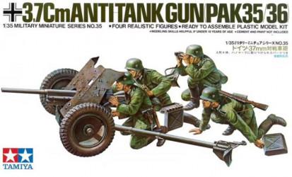 TAMIYA German 37mm Anti-tank