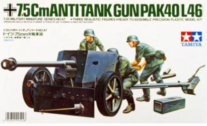 TAMIYA German 75mm...