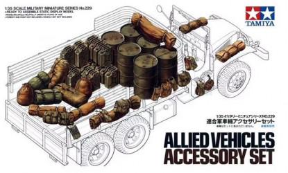 TAMIYA Allied Vehicles...